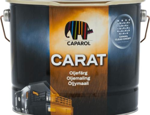 Kasutame kvaliteetvärvi Carat